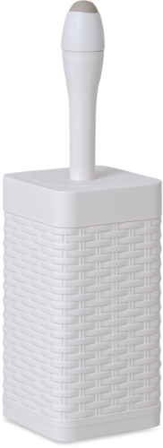 Square Rattan Magic Toilet Brush